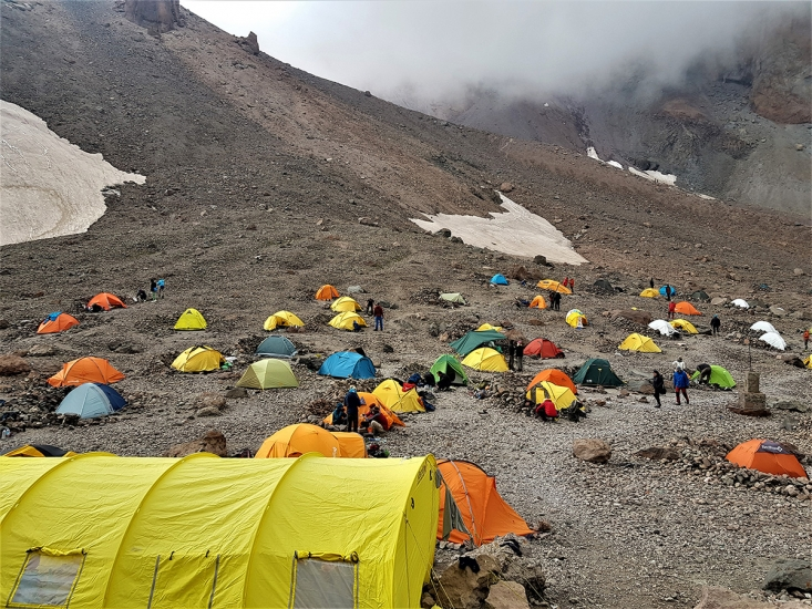 Kazbek Base Camp