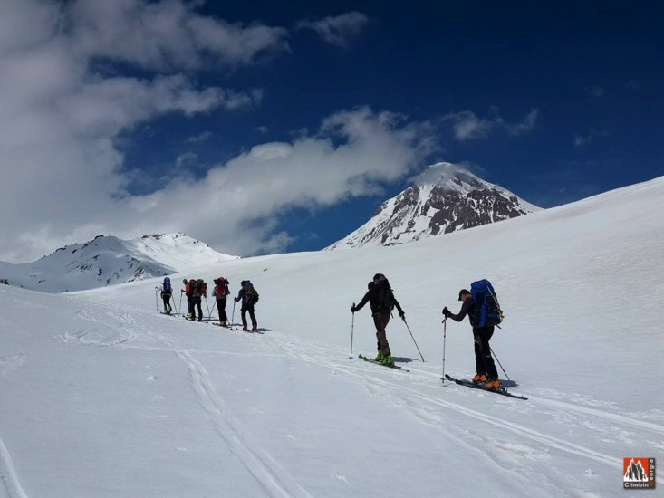 SKI TOUR mt kazbek