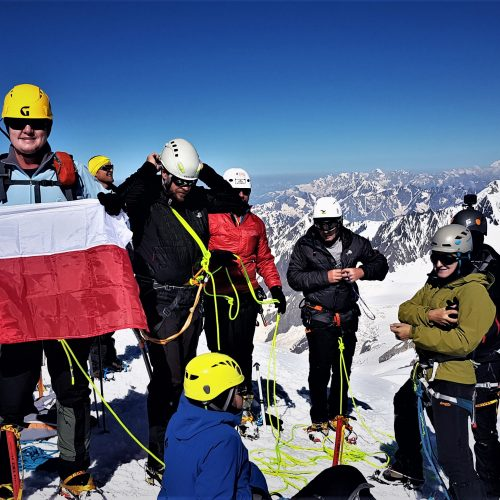 Kazbek summit 5054 m.a.s.l