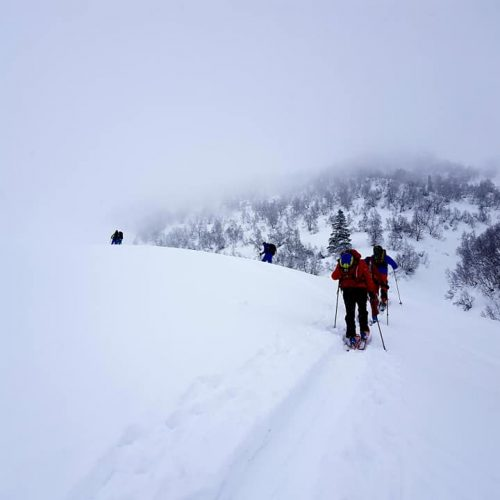 Ski tour in Svaneti