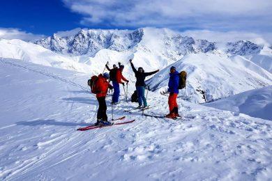 Skitouren in Swanetien