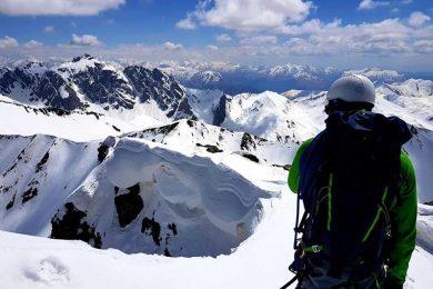 Ski mountaineering Chaukhi