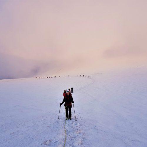 Kazbek Plateau