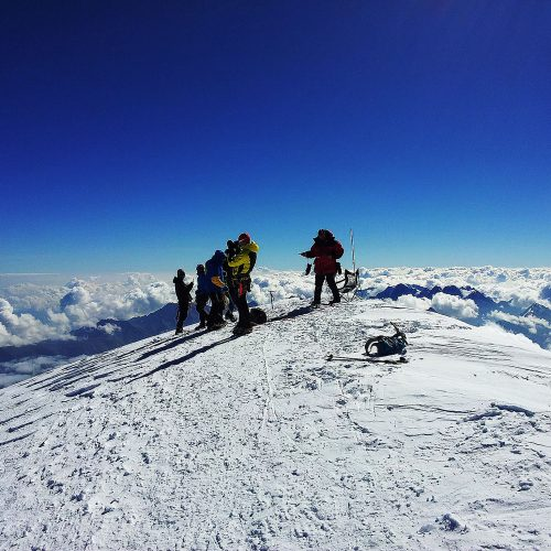 Kazbek Summit