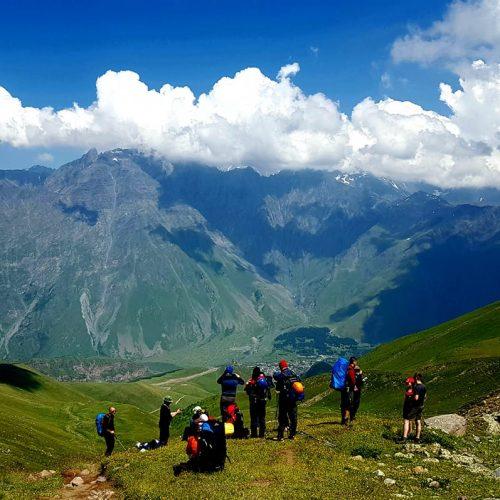 Kazbek trek