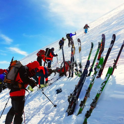 ski mountaineering tour aragats kazbek Elbrus