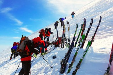 Ski Aragats Kazbek Elbrus