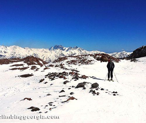 Kazbek aclimatization