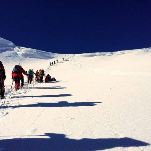 kazbek climb