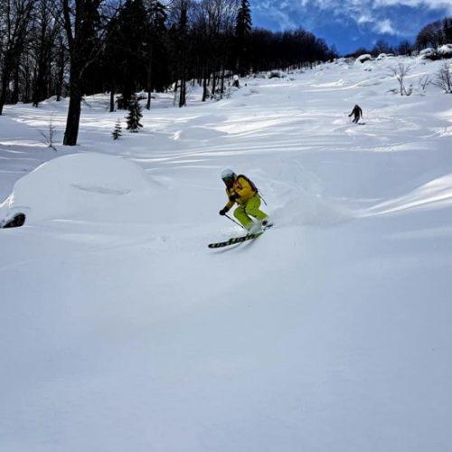 Heli skiing Bakhmaro