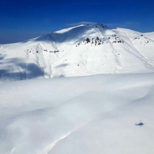 Heli skiing adjaria