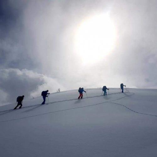Ski touring Mestia