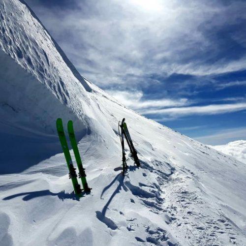 Ski touring tour Kazbek