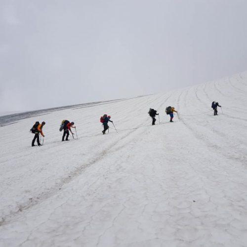 Mount Tetnuldi climb