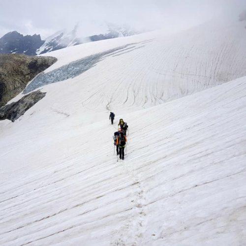 Climb Tetnuldi