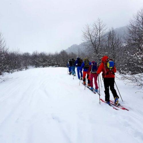 Gudauri ski touring