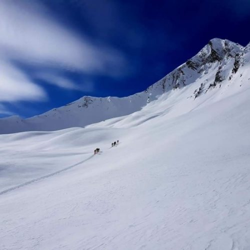 Ski touring in Gudauri