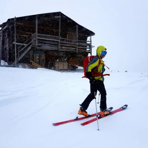 Ski touring in Bakhmaro