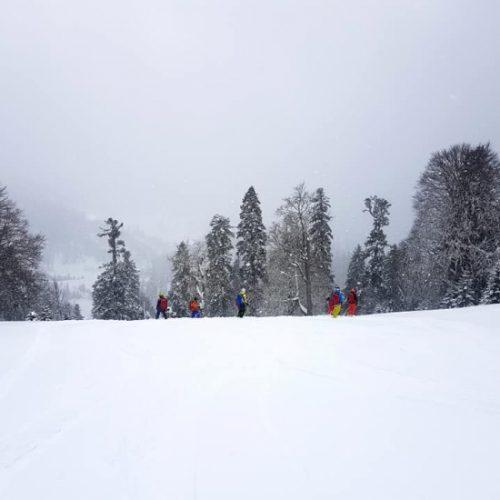 Ski touring in Svaneti