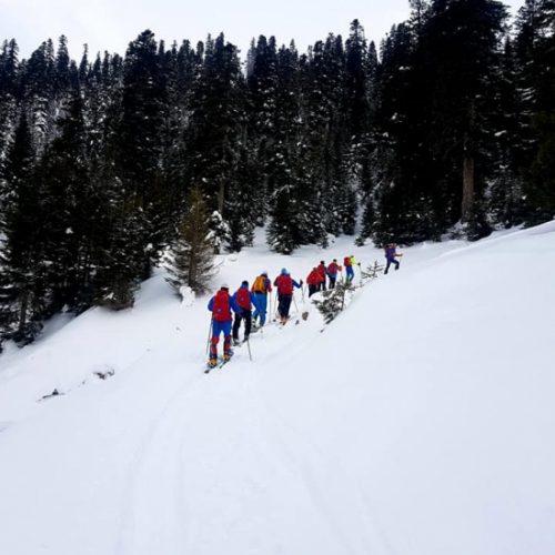 Ski touring Bakhmaro