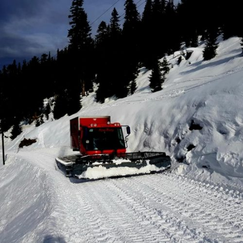 Cat skiing in Bakhmaro
