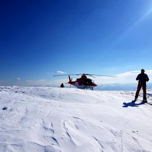 Heli skiing in Georgia