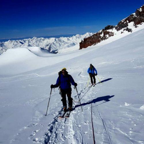 Ski touring Svaneti