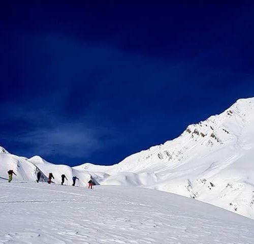 Ski touring Georgia