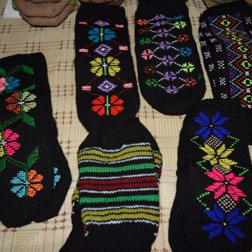 Tushetian socks