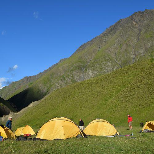 Camping Tusheti