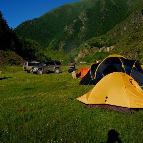 Camping Georgia