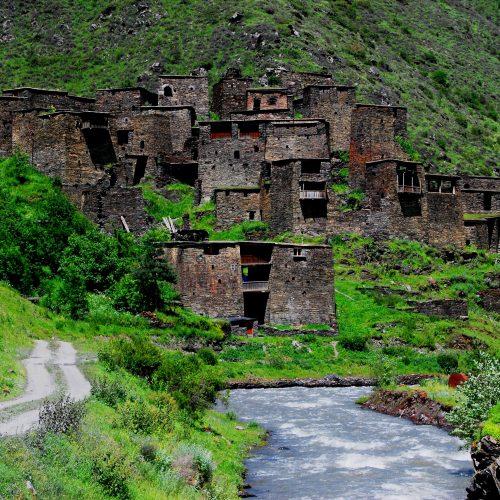 Tushetian village