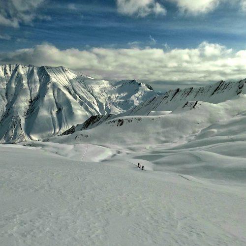 Mt Dedaena. Ski touring in Gudauri