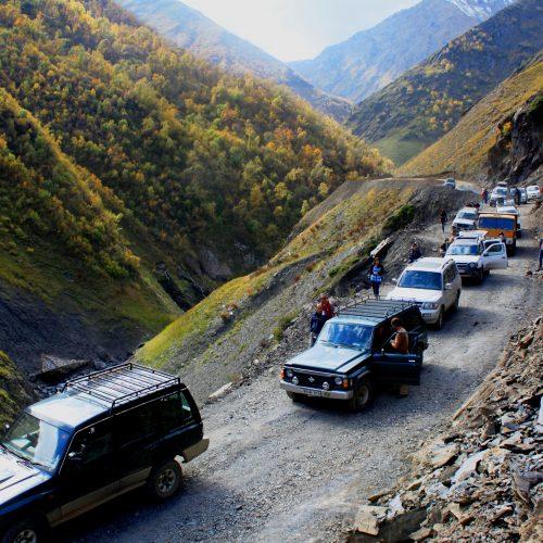 Road in Tusheti