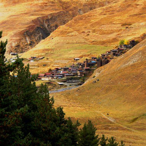 Old village Tusheti