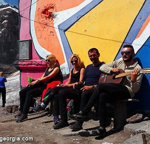 Kazbek base camp