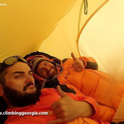 Ushba Climb