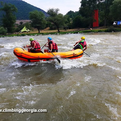 Rafting tour in Georgia