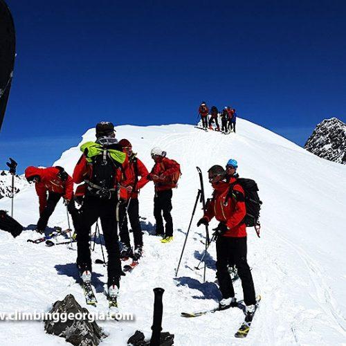Ski touing Gudauri