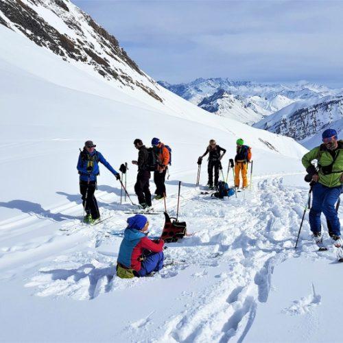 Ski touring Dedaena, Gudauri