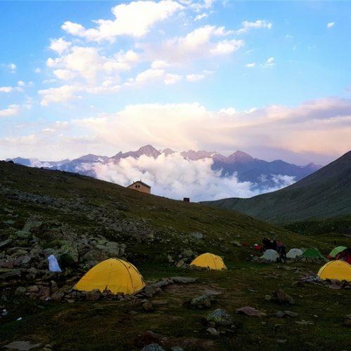 Mount Kabek camp