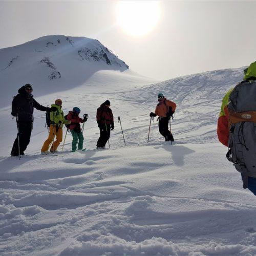Ski touring gudauri
