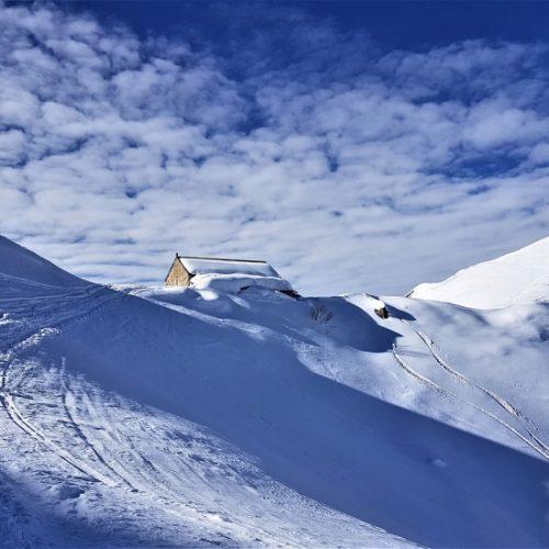 Ski touring gudauri lomisa