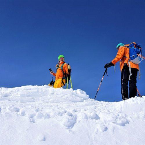 Ski touring gudauri bidara