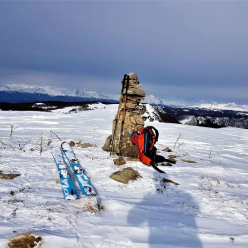 Ski touring Racha