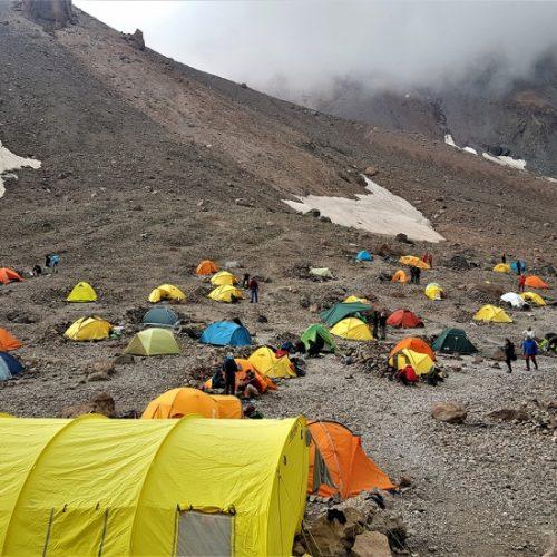 Mount Kazbek Camping