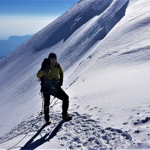 Climbing Caucasus