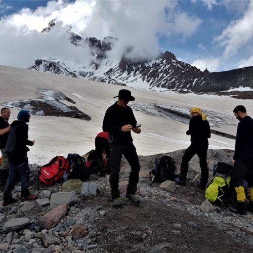 kazbek peak