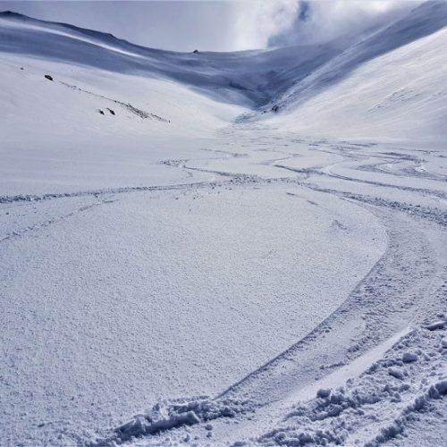 Ski tour mestia