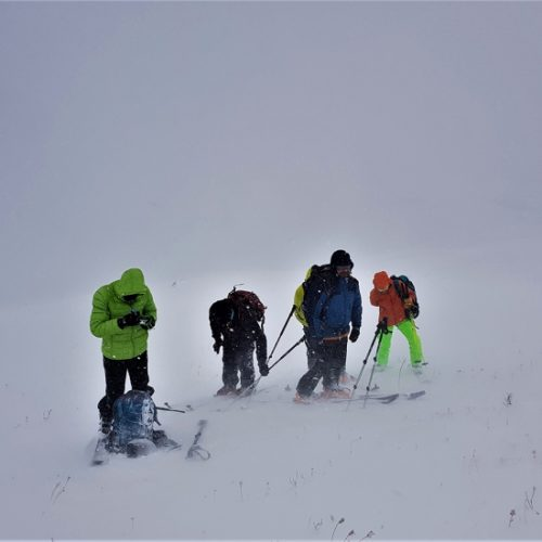 Ski touring in Armenia